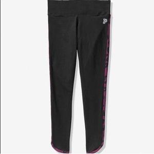Pink VS Cotton Curved hem 7/8 ankle leggings